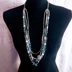 #J9 Layer Beaded Necklace